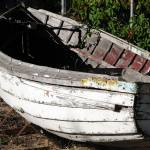 """Rowboat in Yard_1"" by rathompson"