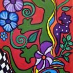 """Lizard - Mexican Folk Art"" by AVApostle"
