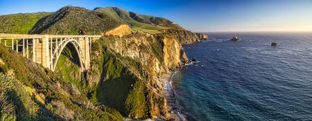 Big Sur Bridge Panorama