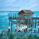 """""""Cocoa Beach Pier"""" by derekmccrea"""