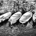"""Como boats"" by motleymenagerie"