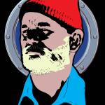 """redbubble-Bill-Murray-Life-Aquatic"" by RichDelux"
