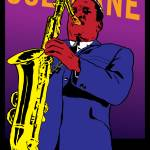 """redbubble-coltrane2"" by RichDelux"