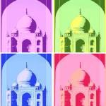 """Warhole Taj Mahal"" by ginaspics"