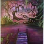 """Swamp (Verdant pan)"" by jenndelfs"