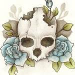 """""""Skull Tattoo"""" by jenndelfs"""