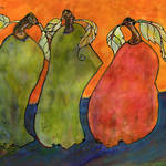 """Three Surrealism Pears"" by BlendaStudio"