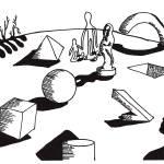 """Geometric Landscape"" by Flook"