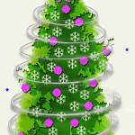 """christmas tree snflake 2011_edited-2"" by schuhfly"