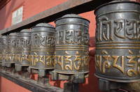 Prayer Wheels Tibet