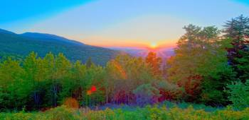 blue ridge sunrise 1