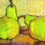 """Green Pears Art"" by BlendaStudio"
