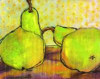 Green Pears Art
