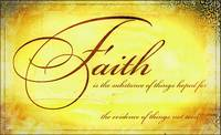 faith is artistic yellow