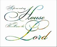 serve the lord color insdie