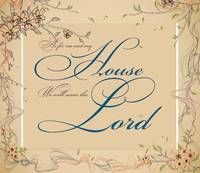 serve the lord floral fram