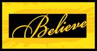 believe yellow block