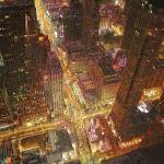 """Chicago Downtown at Night"" by ArtByRuta"