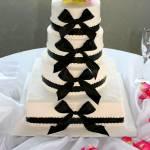 """Bow tie Wedding Cake"" by DarrinAldridge"