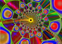 Trip In Psychedelic 3d Optics