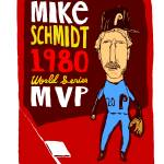 """Mike Schmidt Philadelphia Phillies"" by jbperkins"