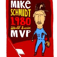 Mike Schmidt Philadelphia Phillies Art Prints & Posters by jay perkins