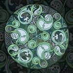 """Celtic Stormy Sea Mandala"" by foxvox"