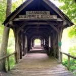 """Cambron Covered Bridge"" by kFergPhotos"