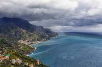 Rainbow over the Amalfi Coast