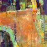 """""""Simple Pleasures Abstract Art"""" by BlendaStudio"""
