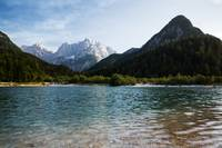 Lake Jasna in Kranjska Gora