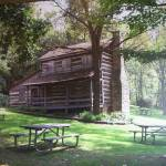 """""""Log Cabin in the Park"""" by Starlet-art"""