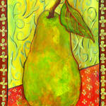 """Impressionist Pear Art"" by BlendaStudio"