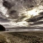 """Hug Point Sunset"" by boppintheblues"
