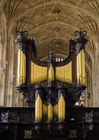 Organ in King's College Chapel, Cambridge