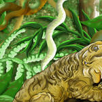 """Leachianus Gecko"" by LizardSpiritArt"