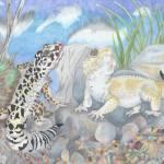 """""""leopard Gecko"""" by LizardSpiritArt"""