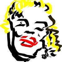 Marilyn Art Prints & Posters by * Grobie *