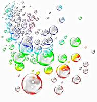 colored bubbles outline2