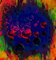 colored bubbles avant garde