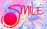 smile pink wave texture