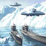 """Hanebu Discs over Antarctica"" by jimnichols"