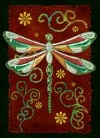 Dragonfly 2 Mystic Folk Art