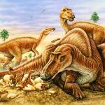 """Maiasaura & nest"" by PhilWilson"