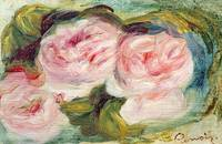 The Three Roses by Renoir