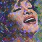 """Whitney Houston"" by RandalHuiskens"
