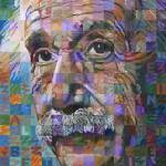 """Albert Einstein #3"" by RandalHuiskens"
