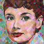 """""""Audrey Hepburn #3"""" by RandalHuiskens"""