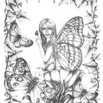 """Butterfly Fairy"" by TASillustrations"