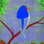 """Bluebird"" by LimeCreekArt"